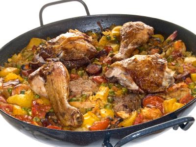 Recette espagnole de la paella - Recette typique espagnole ...