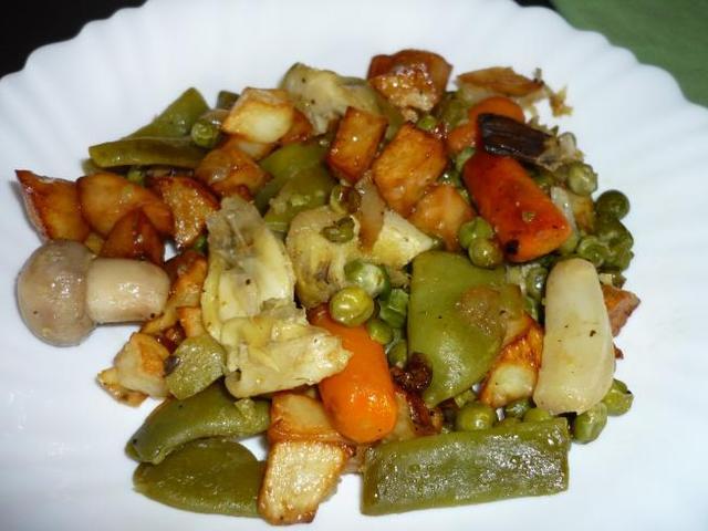 Receta de menestra cocina espa ola - Como preparar menestra de verduras ...